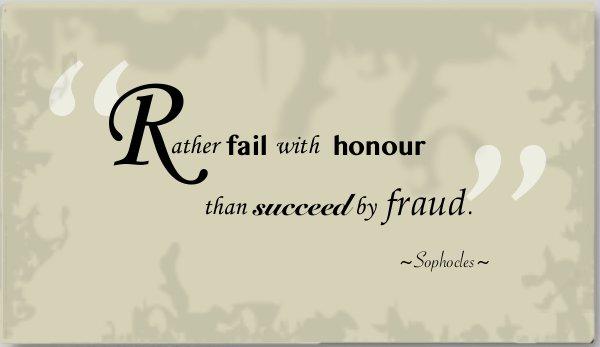 Honour quote #5