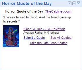 Horror quote #1