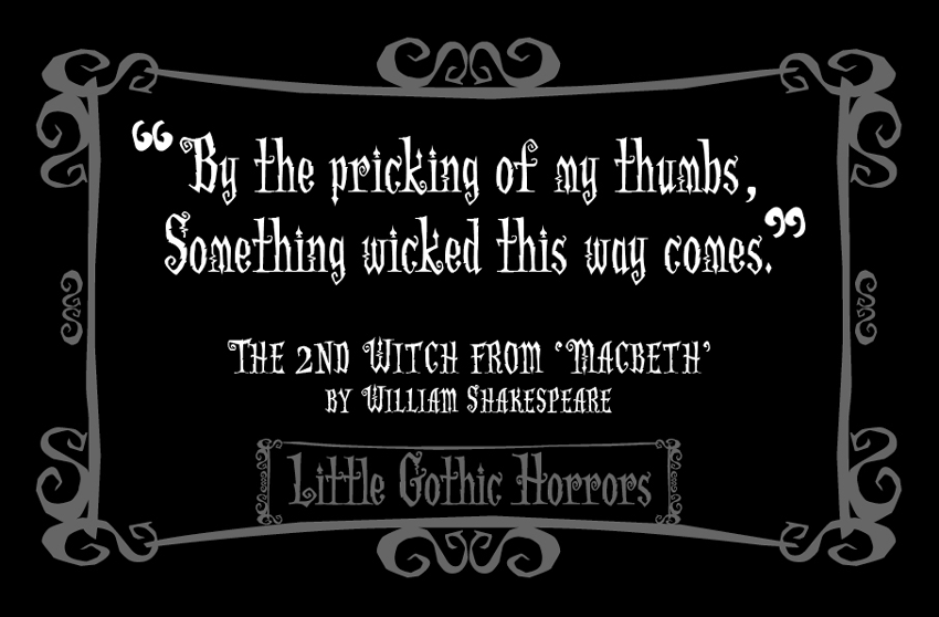 Horrors quote #1