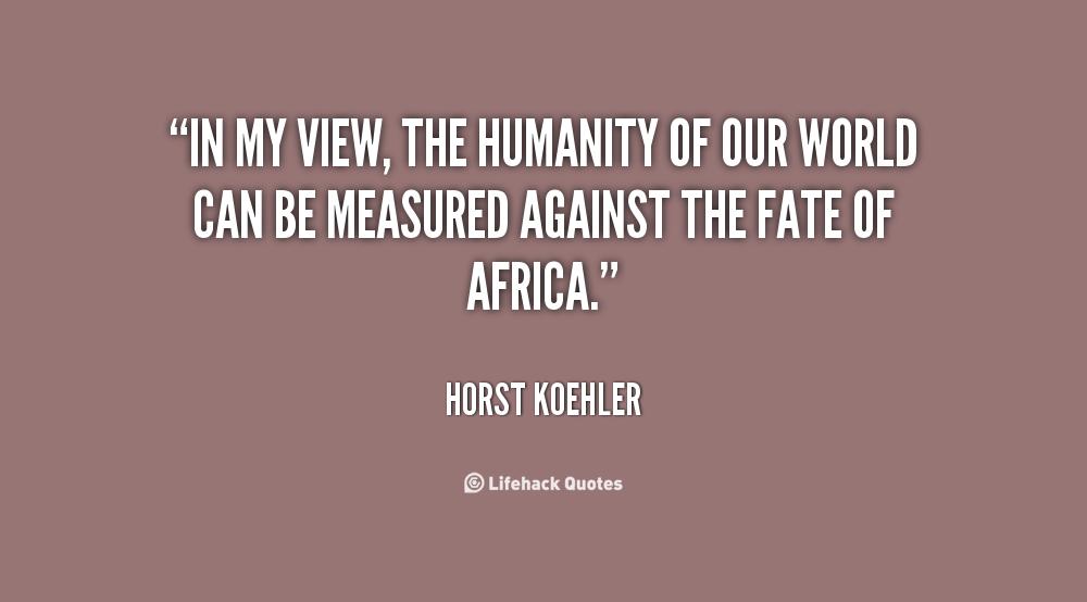 Horst Koehler's quote #6