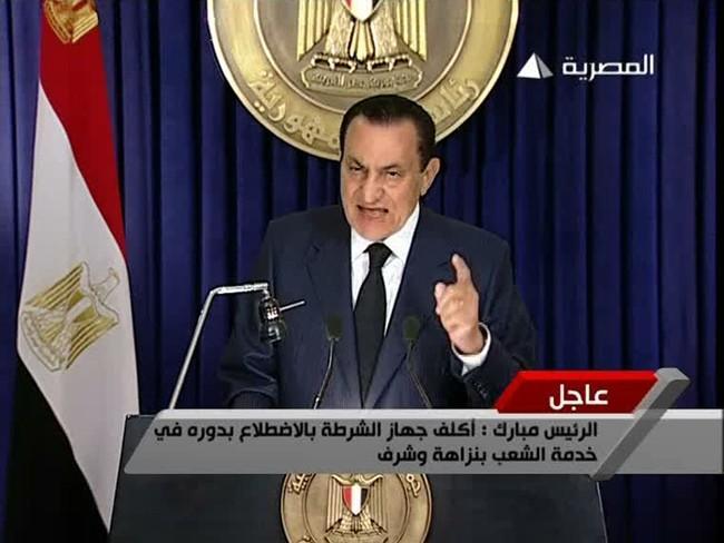 Hosni Mubarak's quote #1