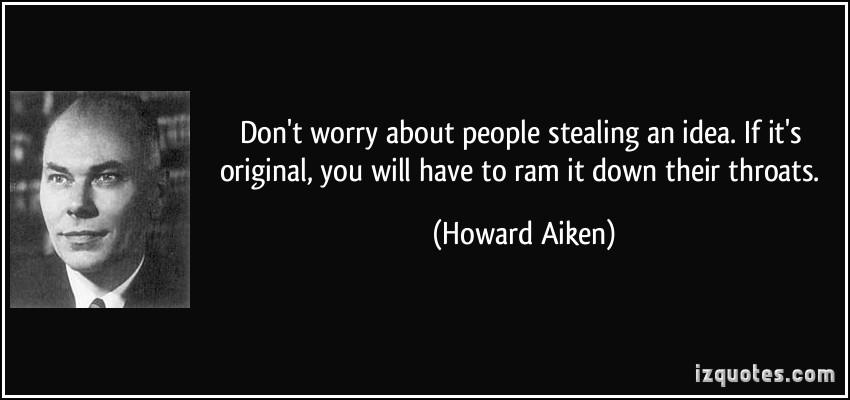 Howard Aiken's quote #2