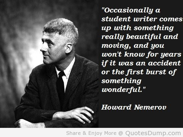 Howard Nemerov's quote #7