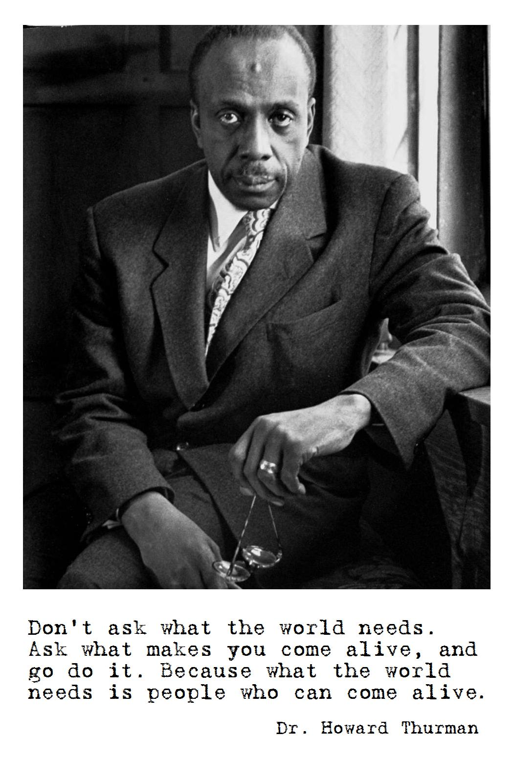 Howard Thurman's quote #3