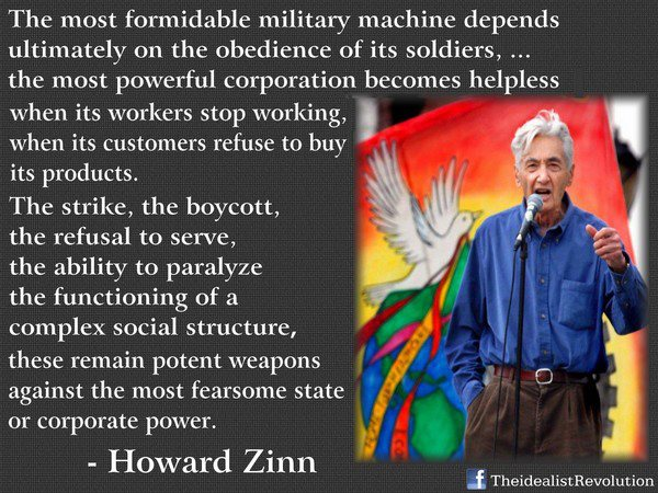 Howard Zinn's quote #2