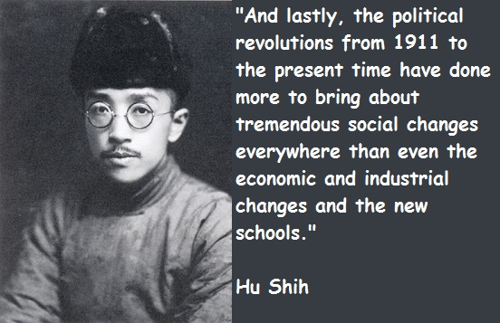 Hu Shih's quote #1