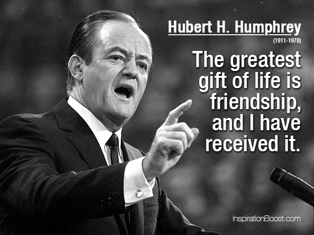 Hubert H. Humphrey's quote #1
