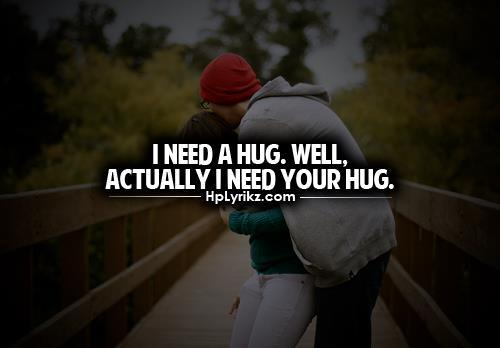 Hug quote #1