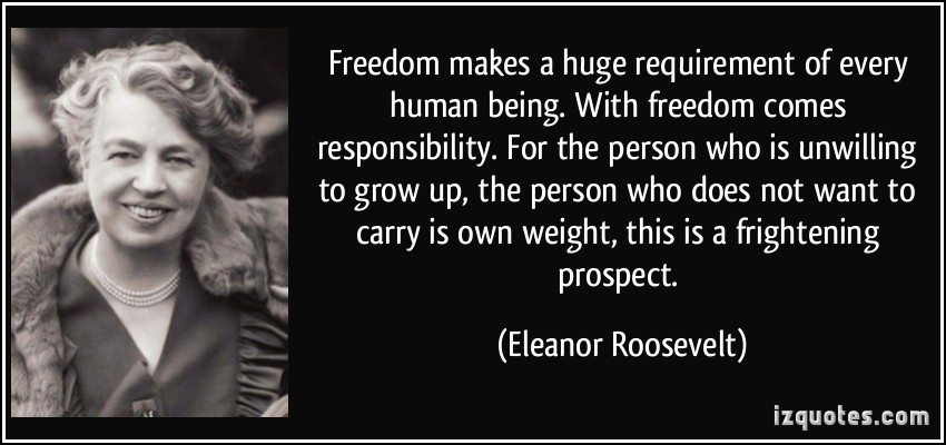 Huge Responsibility quote #2