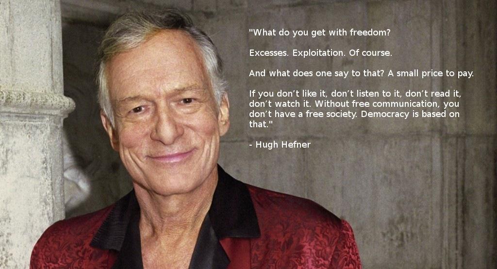 Hugh Hefner's quote #4