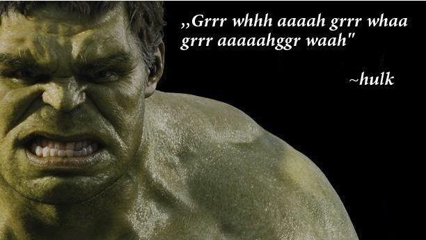 Hulk quote #2