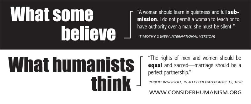 Humanist quote #3