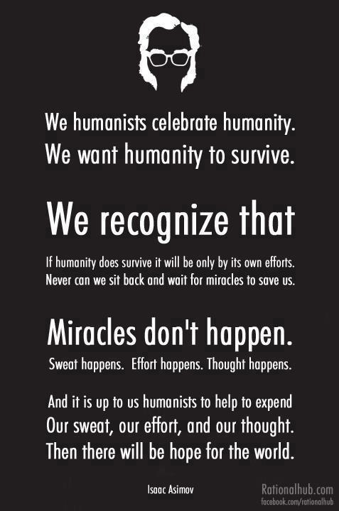 Humanist quote #1