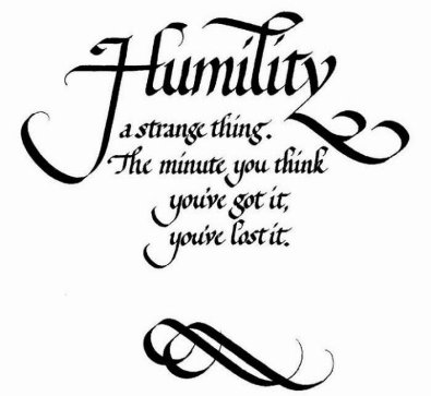 Humbled quote #2