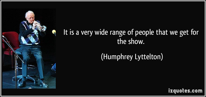 Humphrey Lyttelton's quote #3