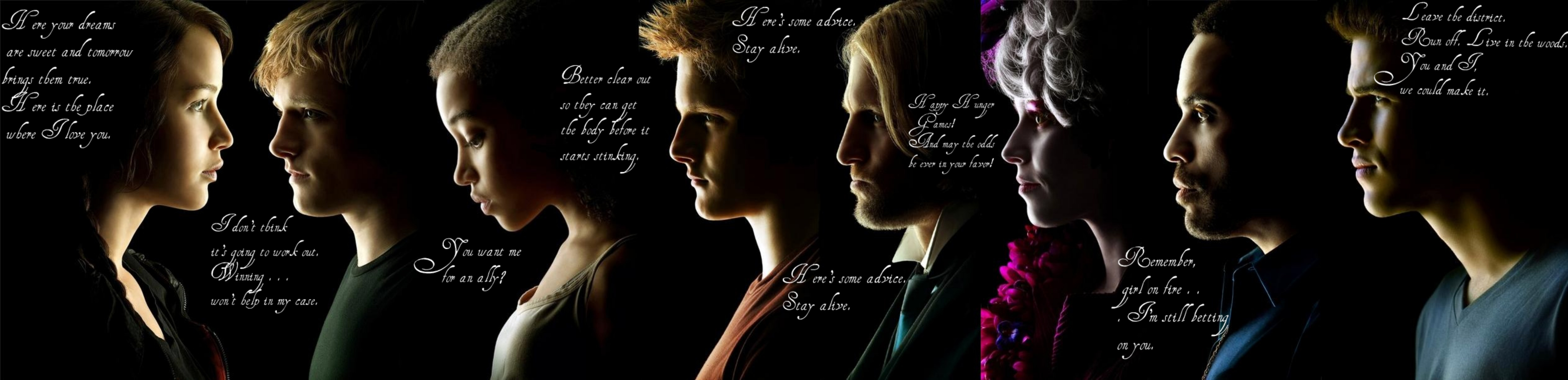 Hunger Games quote #1