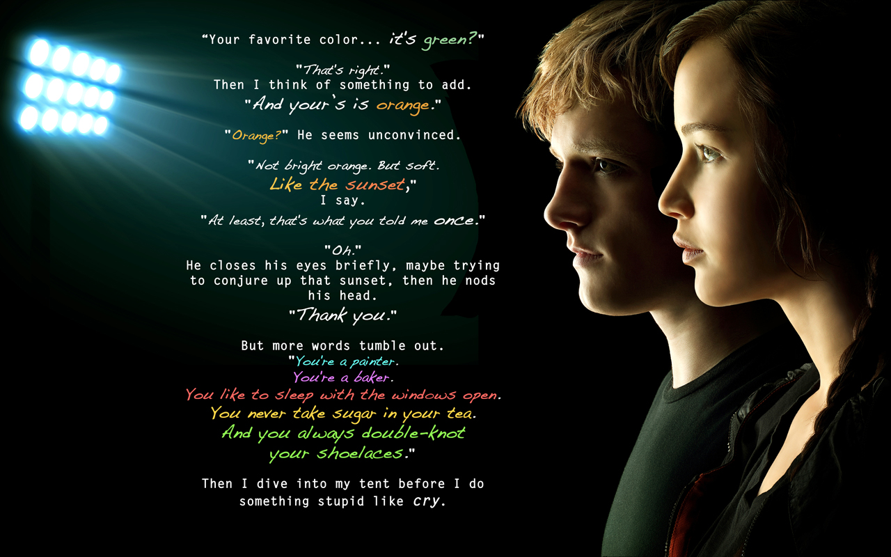 Hunger Games quote #2