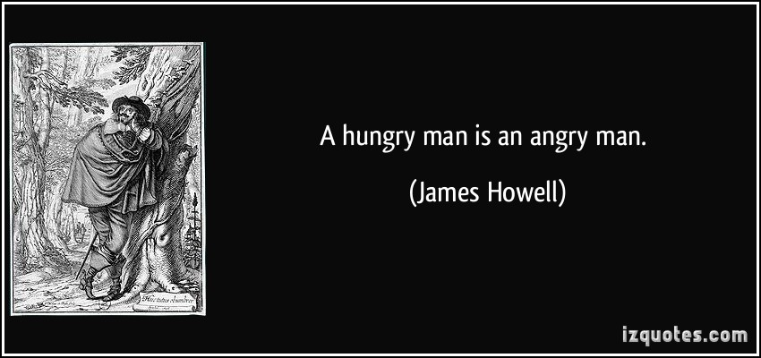 Hungry Man quote #2