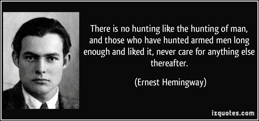 Hunted quote #1