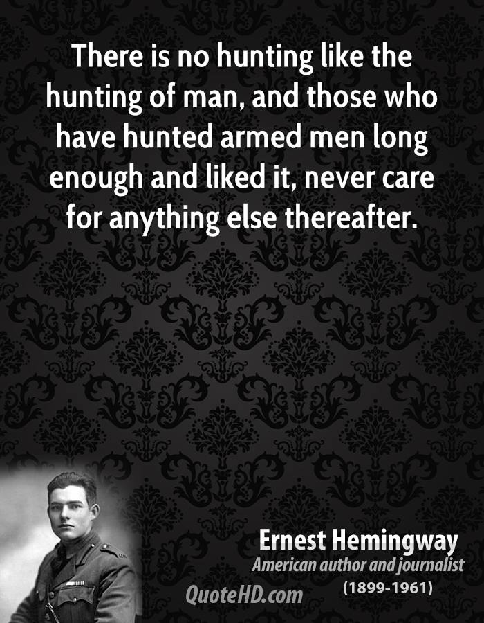 Hunted quote #2
