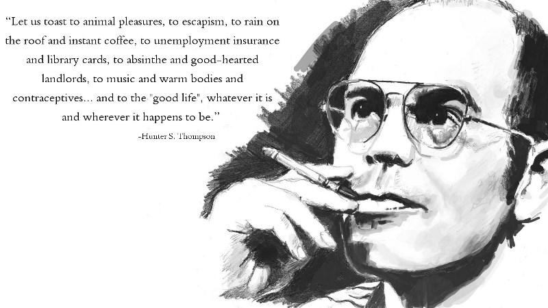 Hunter S. Thompson's quote #5