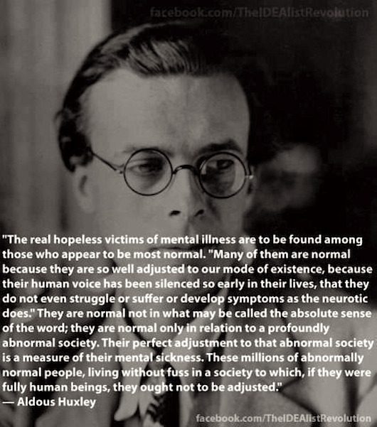 Huxley quote