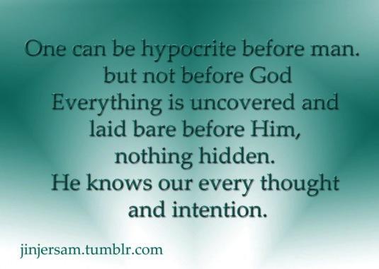 Hypocrite quote #8