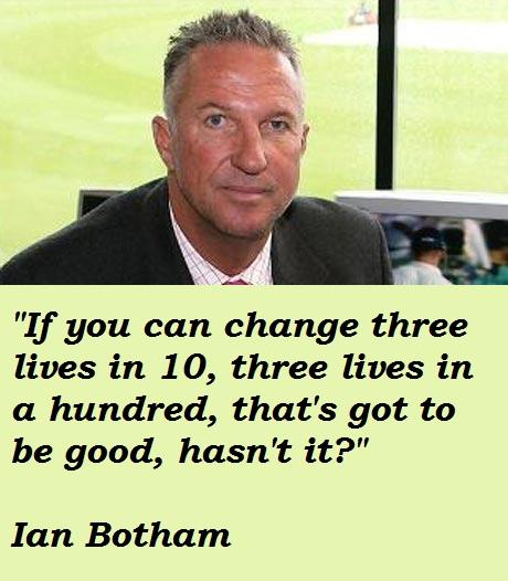 Ian Botham's quote #3