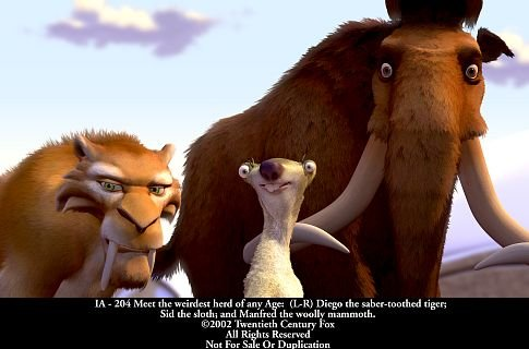 Ice Age quote