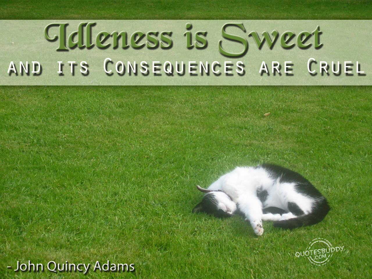 Idleness quote #2