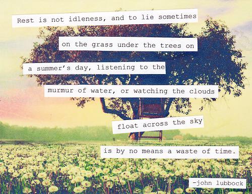 Idleness quote #3