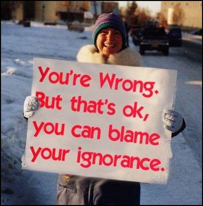 Ignorant quote #2