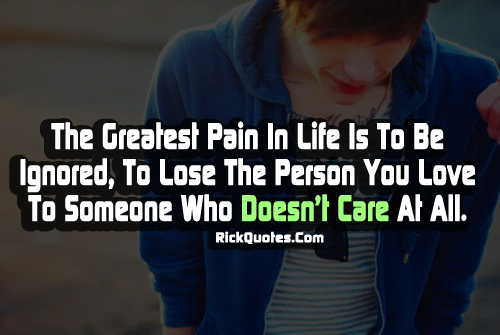 Ignore quote #5