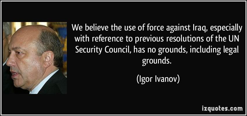 Igor Ivanov's quote #6