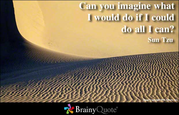 Imagined quote #1