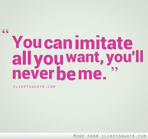 Imitate quote #5