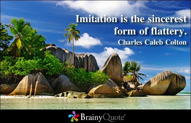 Imitation quote #1