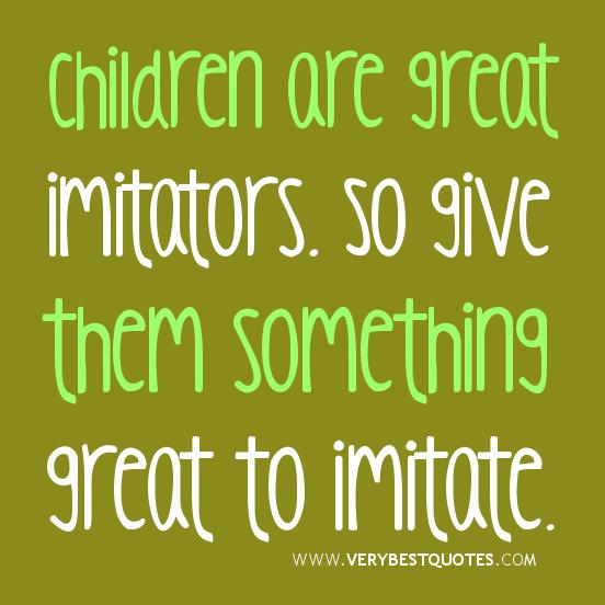 Imitators quote #2