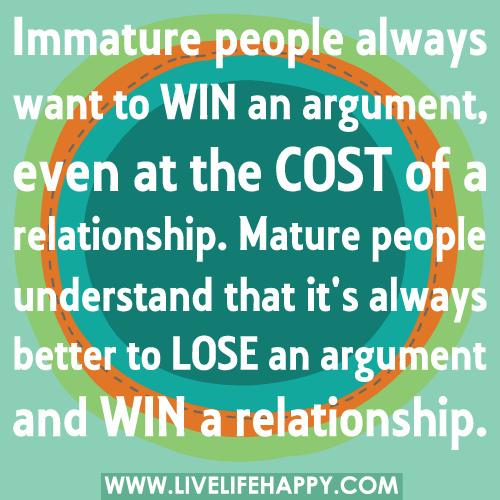 Immature quote #3