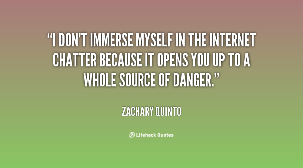 Immerse quote #1