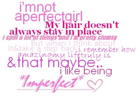 Imperfection quote #2