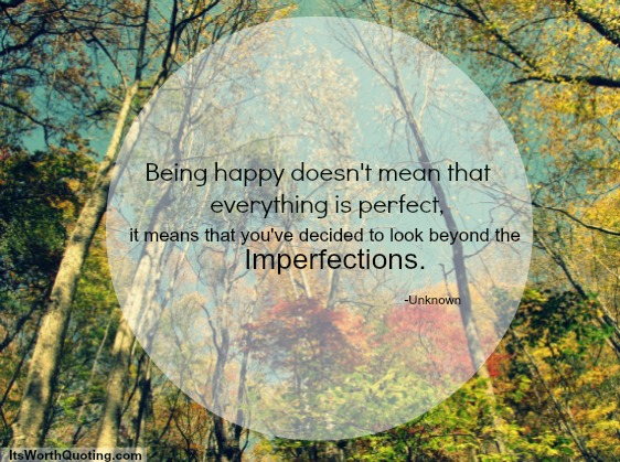 Imperfections quote #1
