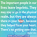 Important People quote