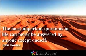 Important Questions quote