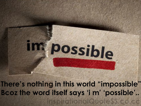 Impossible quote #8