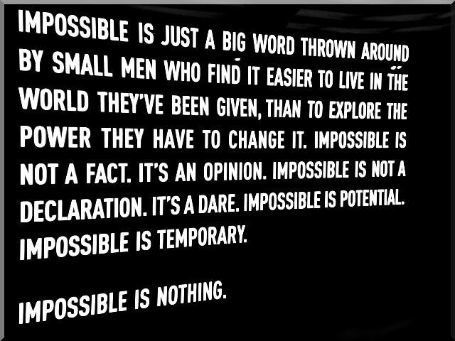 Impossible quote #3