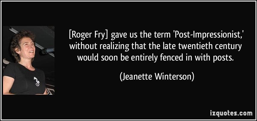 Impressionist quote #2