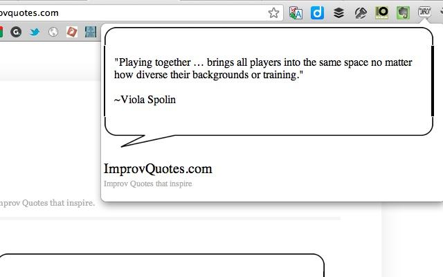 Improv quote #4
