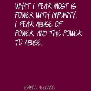 Impunity quote #1