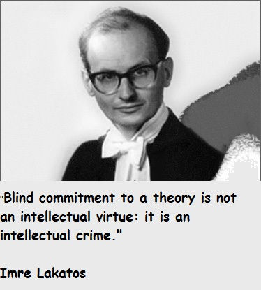 Imre Lakatos's quote #2